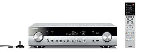 Yamaha AV-Receiver RX-S602 MC titan - Slimline Netzwerk-Receiver mit kraftvollem 5.1 Surround-Sound - für packendes Home Entertainment - Music Cast und Alexa kompatibel (Yamaha Heimkino-system)