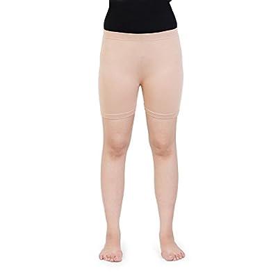 Bonjour Women's Shorts (BS4001-F - Skin 16& Above_Beige_Free Size)