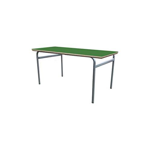 Mobeduc enfant extensible rond Structure Table, bois, Vert foncé, taille 3, 200 x 80 x 59 cm