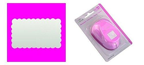 EFCO 2,2x 1,4cm mittel Rechteck gezahnt, Pink