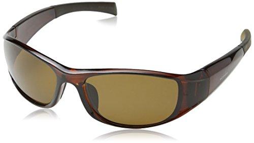 Columbia Herren 900E Wrap Sonnenbrille, 02 Crystal Brown