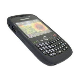 Blackberry Curve 8520, aus Silikon, Dose, Schwarz Blackberry Curve 8520 Skin