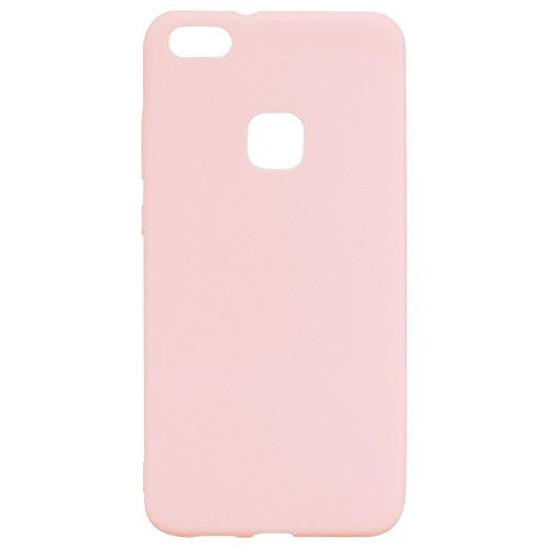 Preisvergleich Produktbild Huawei P10 Lite Hülle, Sasairy Ultra Dünn TPU Silikon Hülle Case Handyhülle Schutzhülle für Huawei P10 Lite-Rosa