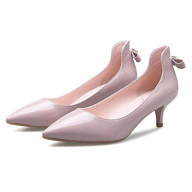 Moda Donna Sandali Sexy donna tacchi Four Seasons tacchi / Punta Ufficio sintetico & Carriera / Party & sera abito / Stiletto Heel Black