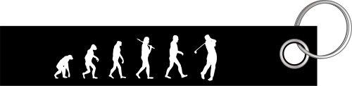Preisvergleich Produktbild Golf Golfer Golfen Golfschläger Evolution Schlüsselanhänger Schlüsselband Keyholder Lanyard
