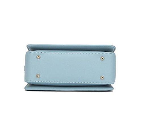 Normallack Handgewebter Einfacher Schulterbeutel Diagonaler Pakethandtasche Kleiner Quadratischer Beutel Pink