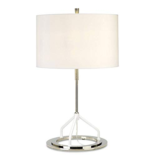 Elstead - Vicenza lámpara de mesa - Gris oscuro níquel pulido de ...