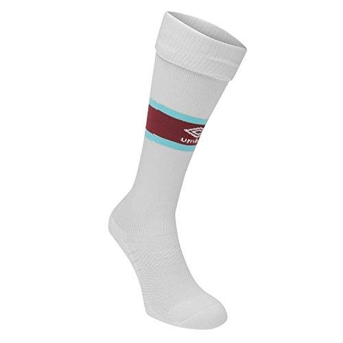 2016-2017 West Ham Away Football Socks (White) - Kids