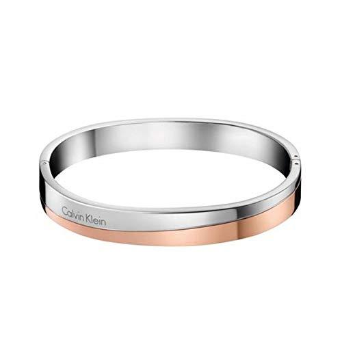 Calvin Klein Damen-Armreifen Edelstahl KJ06PD20010M