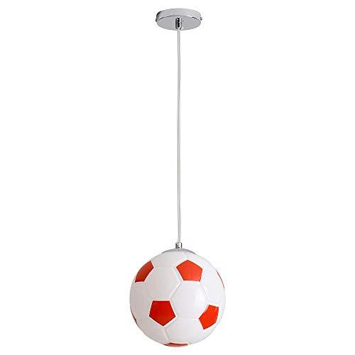 Keby - Lámpara de techo moderna con forma de balón de fútbol, para ...