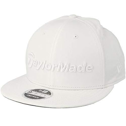 TaylorMade 2019 Performance New Era 9Fifty Chapeau Réglable Snapback pour Hommes Optic White