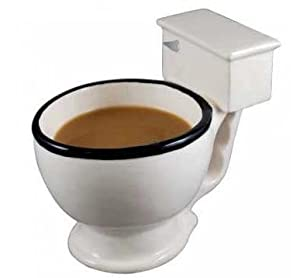 Taza Cerámica Toilette de Genérico