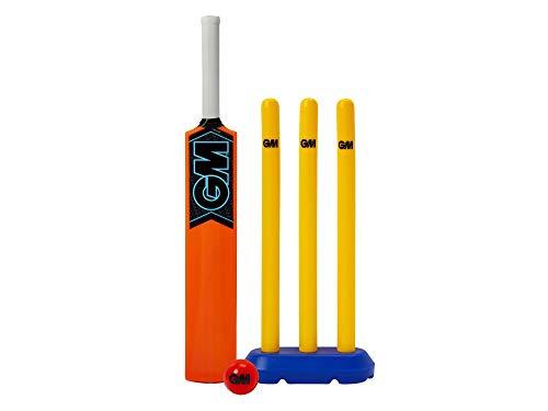 GM Kids 'Striker Cricket Set, Orange, One Size