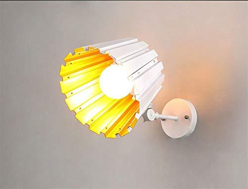 Aussenlampe Wandbeleuchtung Wandlampe Wandleuchte Innen Post-Modern Style Eisen Lampenkörper Aluminium Lampenschirm E27 Teleskopstange Wandleuchte