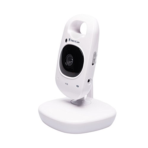 Audioline Watch & Care V130 – Video-Babyphone mit Nachtlicht und Gegensprechfunktion