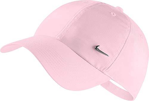 Nike u nk h86 cap metal swoosh, berretto unisex adulto, rosa (pink foam), taglia unica