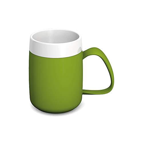 Ornamin Becher mit Trink-Trick und Thermofunktion 140 ml grün (Modell 207) / Thermobecher, Spezial-Trinkhilfe, Schnabelbecher