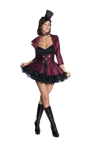 Rubie's Willy Wonka Kostüm Charlie und die Schokoladenfabrik sexy Frauen (Willy Wonka Kostüm Damen)