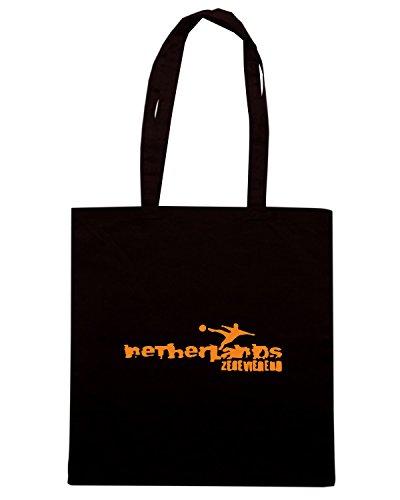 T-Shirtshock - Borsa Shopping WC0095 OLANDA HOLLAND NEDERLAND Nero
