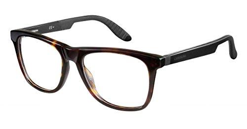 Carrera 4400 Brillenrahmen CA4400-0TRD-5318 - Dark Havana Black Rahmen, Linsendurchmesser 53mm,