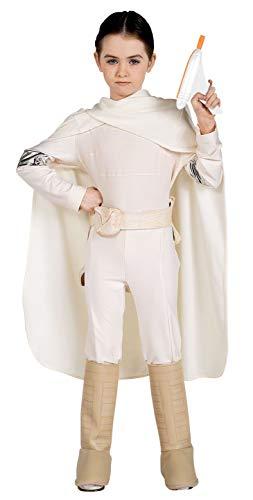 Star Wars Padme Amidala Deluxe Kostüm für Kinder, Größe:M - ca. 128cm (Star Wars Amidala Kostüm)