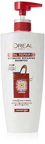 L'Oreal Paris Total Repair 5 Advanced Repairing Shampoo, 640 ml