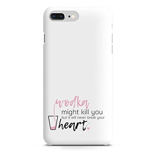 artboxONE Apple iPhone 8 Plus Premium-Case Handyhülle Wodka Might Kill You von AB1 Edition