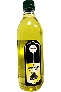 Kinsfolk Extra Light Olive Oil ((Imported Oil from Spain)) - 1 LTR