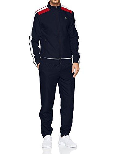 Lacoste Sport Herren Sportswear-Set Wh9518, Blau (Bleu 2eu), Medium (Herstellergröße: 4)