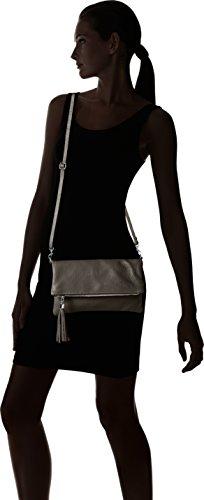Bags4Less - Luna, Pochette da giorno Donna Grigio (Dunkelgrau)