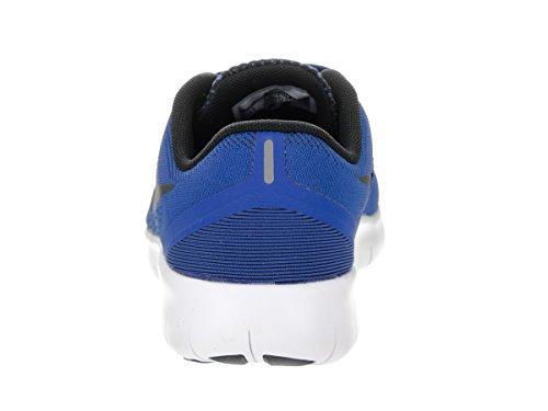 Nike Jungen Free Rn (Gs) Trainingsschuhe, Blau Dunkelblau