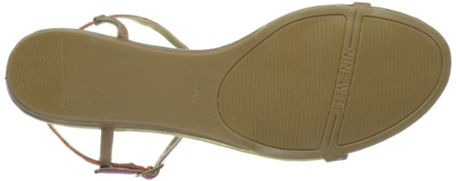 Nine West Tikihut Sandalo Natural Multi Leather