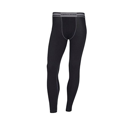 Thermounterwäsche Hose e.s. cotton stretch Long Pants Schwarz Gr. 5 (M)