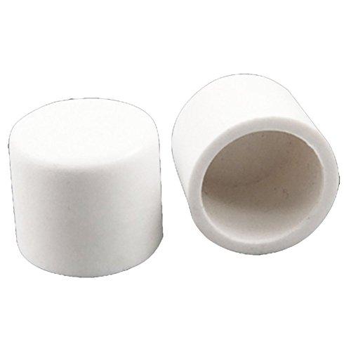 SODIAL (R) 5 Stueck 20 mm Wasser Rohr Fittings-PVC Slip-Endkappen Abdeckung - Weiss (Rohr Wasser)