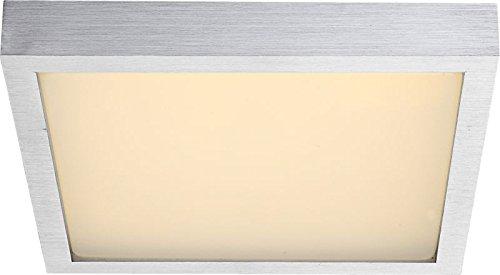 LED Deckenlampe 1 flammig Deckenleuchte Flur Lampe mit Bewegungsmelder (Deckenstrahler, Sensor, Wohnzimmer Leuchte, Schlafzimmer, Küchenlampe, 30,4 cm, Leuchtmittel 1 x 12 Watt, warmweiß, EEK A+)