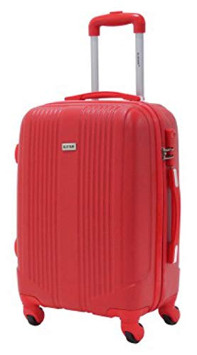 Valise cabine 55cm - Trolley ALISTAIR Airo - ABS - Rouge