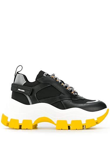 Prada Damen 1E586lf0753ky9f0c5z Schwarz Polyester Sneakers