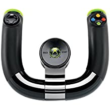 Microsoft Xbox 360 Wireless Speed Wheel - Volante/mando (Volante, Inalámbrico, Xbox, RF, Atrás, Start, Digital)