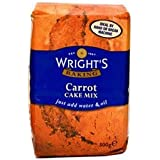 Wrights Carrot Cake Mix, 500g.