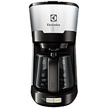 Electrolux EKF5300 Independiente Semi-automática - Cafetera (Independiente, Cafetera de filtro, De café molido, 1080 W, Negro, Acero inoxidable)