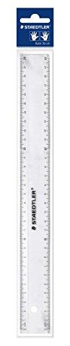 Staedtler 562300PB TH Regla plana, 300mm, plástico, transparente