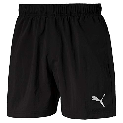 PUMA Herren ESS Woven Shorts 5 Zoll Black, M - Puma-jersey-shorts