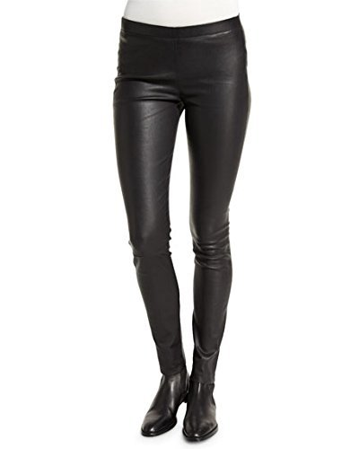 Krystle Women'S Stretchable Leather Look Legging/ Jegging With Zip/Button For Size 28  available at amazon for Rs.385