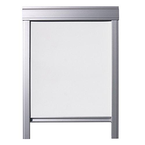 ITZALA Verdunkelungs-Rollo für VELUX Dachfenster und Oberlichter, M06, Weiss - Easy Fit
