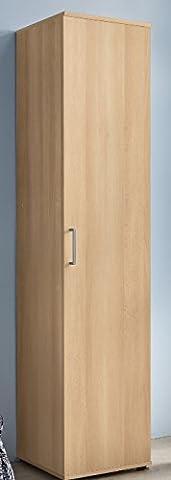 7.7.6.2809: buche dekor - produziert in BRD - Mehrzweckschrank - Türenschrank - Küchenschrank - Dielenschrank buche dekor - Büroschrank buche dekor - Vorratsschrank