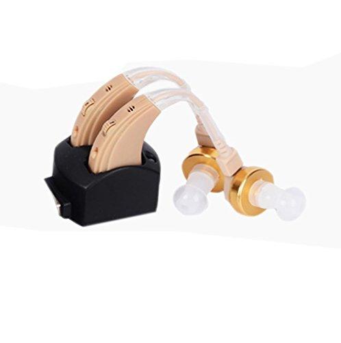 Hörverstärker Alle digitalen Lautstärkeregler Personal Sound Amplifier (wiederaufladbar, geeignet für linke und rechte Ohren) ZDB-100MHB , Couple