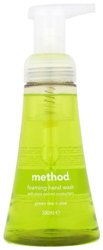 Method Foam Hand Wash Green Tea Aloe 300 ml (Pack of 3)