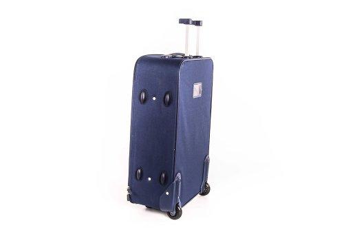 Valigia trolley semirigido SWISH JEANS blu mini bagaglio ryanair S69