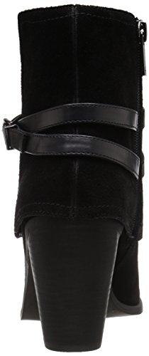Jessica Simpson Calven Femme Chunky Talon Tailles chaussons Bottes en cuir Noir - noir