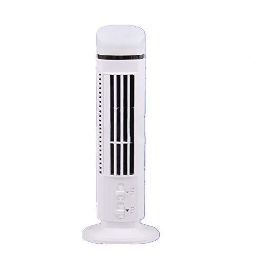 Preisvergleich Produktbild Wenore Turmfan,  Zwei Speed-Fanless Switch Quiet Air Conditioning mit Office Lighting Energy Saving an for Travel